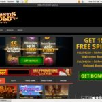 Atlantis Gold Welcome Bonus No Deposit