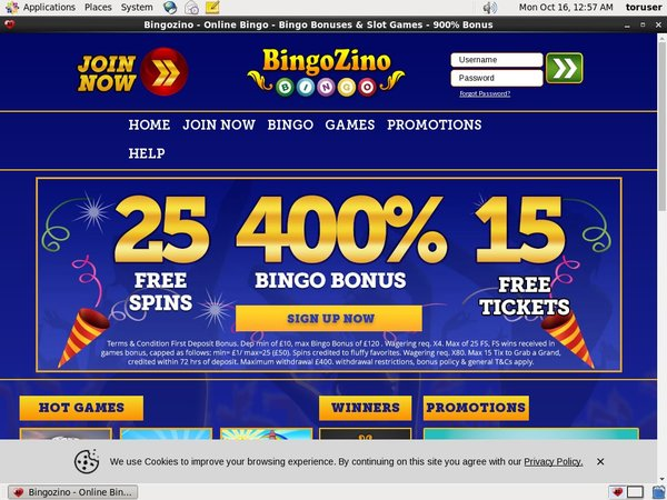 Bingozino Withdrawal