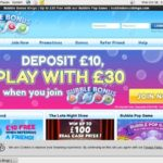 Bubblebonusbingo New Customers Bonus