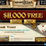 Captain Jack Casino Free Spin