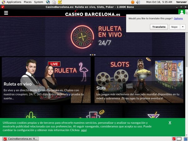 Casino Barcelona Welcome Promo