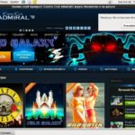 Casinoadmiral 레지스터