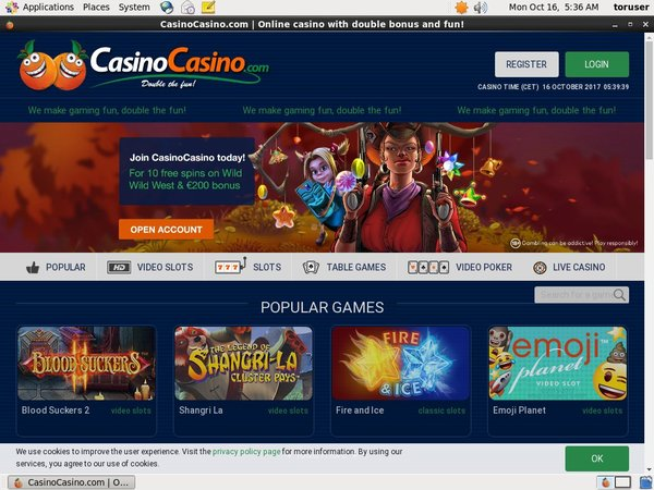 Casinocasino Paypal Offer