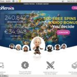 Casinoheroes Free Bet Offer