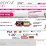Champagne Bingo Sign Up Offer