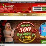 Charming Bingo Deposit Match