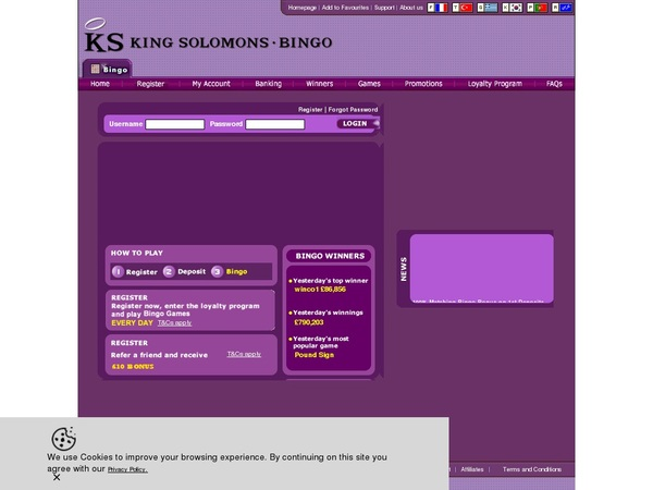 Coupon Ksbingo