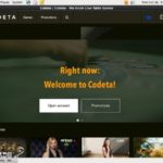 Create Codeta Account