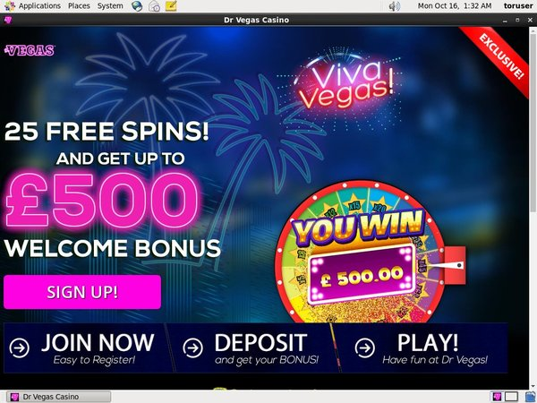Dr Vegas Online Casino Uk