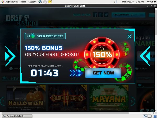 Drift Casino Matched Bet