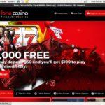 Fone Casino Get Free Bet