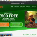 Free Bet Casinoclassic