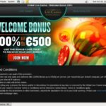 Globallivecasino Register Form