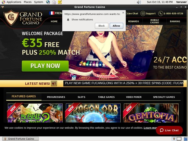 Grand Fortune Casino Become A Vip