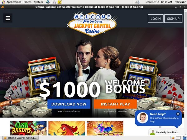 Jackpot Capital Bonus Deal
