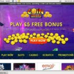 New Coin Falls Casino Account