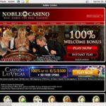 Noblecasino Start Account