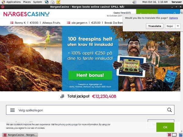 Norgescasino Primeslots