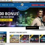 Platinumreels Welcome Bonus No Deposit