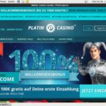 Register For Platincasino