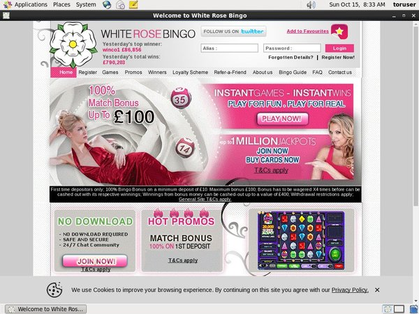 Whiterosebingo Best Bingo Sites