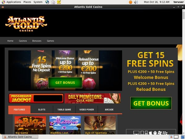 Atlantisgold Promotion Code