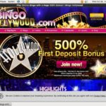 Bingo Hollywood Pay With Paypal