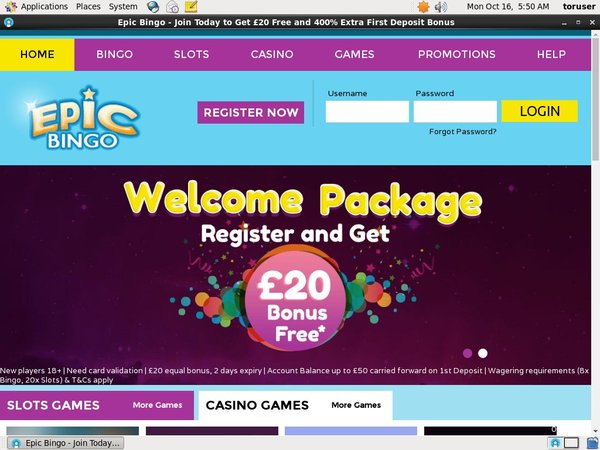 Epicbingo Pay By Phone