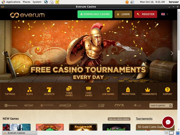 Everum Casino Unibet