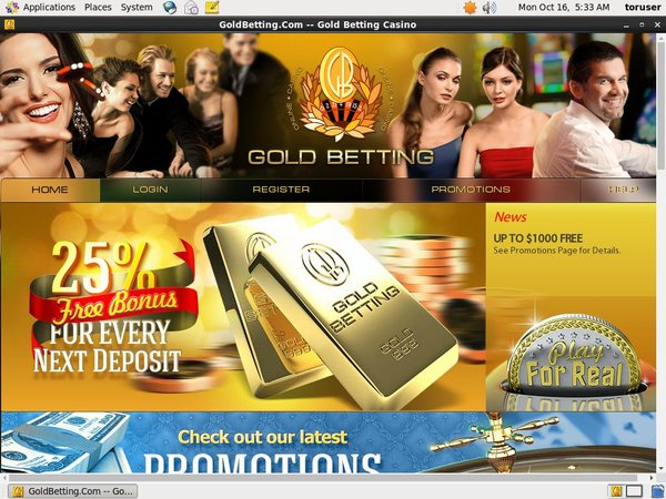 Goldbetting Online Casino Games