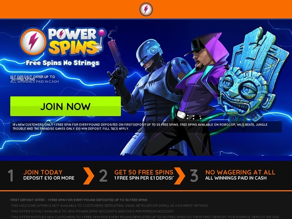 Power Spins App