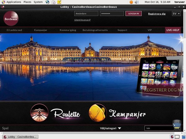 Casino Bordeaux Discover Card