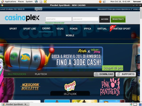 Casion Plex .it Besten Casino Bonus