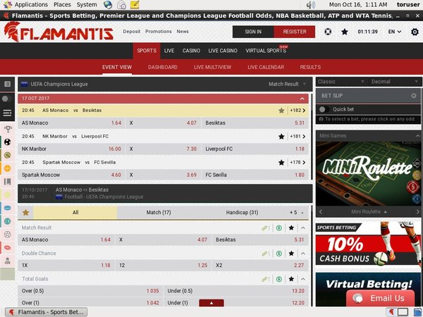 Flamantis Top Online Casinos