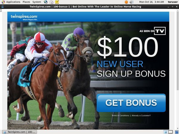 Free Twin Spires Account