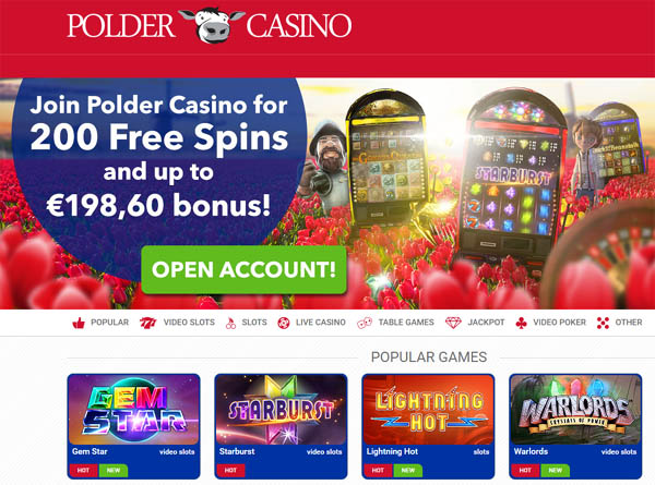 Polder Casino Coupon
