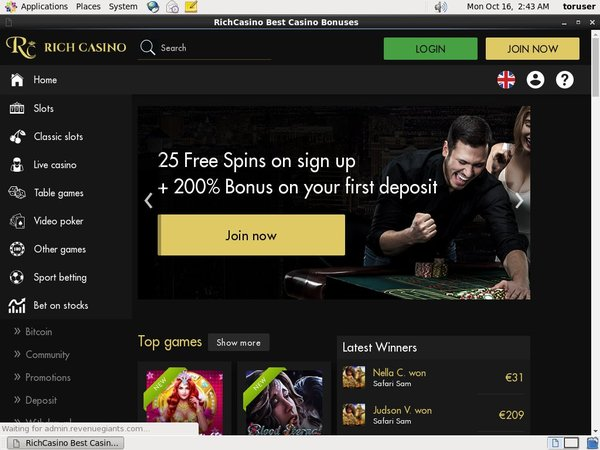 Rich Casino Vip Offer