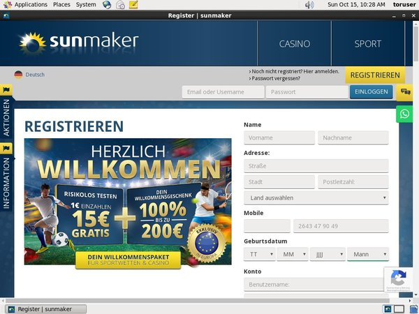 Sun Maker Redbet
