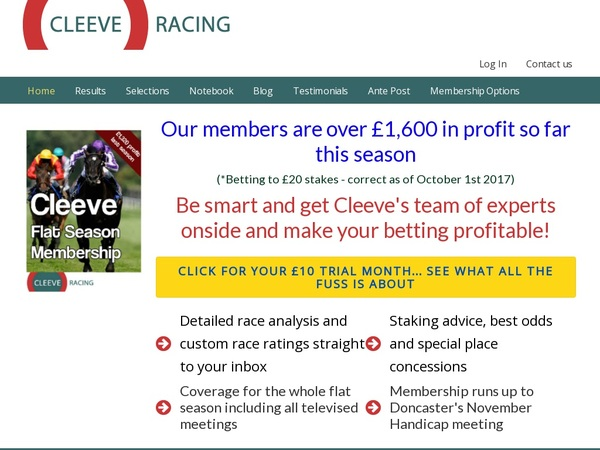 Cleeveracing Coupon Code