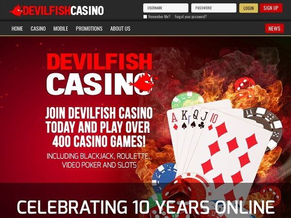 Devil Fish Match Deposit
