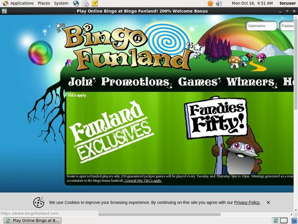 Bingofunland Welcome Bonus Offer