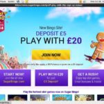 Sugar Bingo Casino Bonus Uk