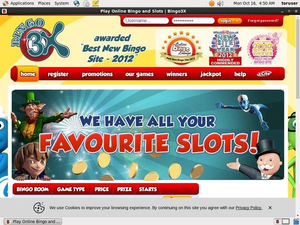 Bingo 3X Payvision