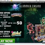 Glimmercasino New Account