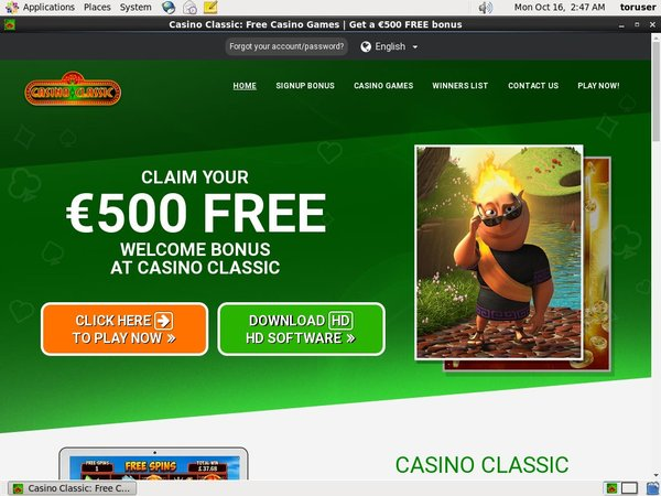 Casino Classic Mobile Football Betting