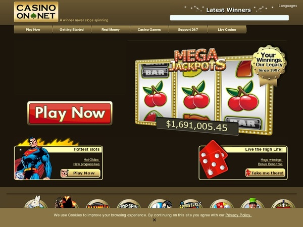 Casinoonnet Bonus Casino
