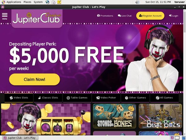Jupiter Club Free Chips