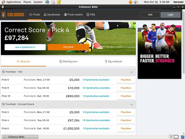 Offer Colossusbets