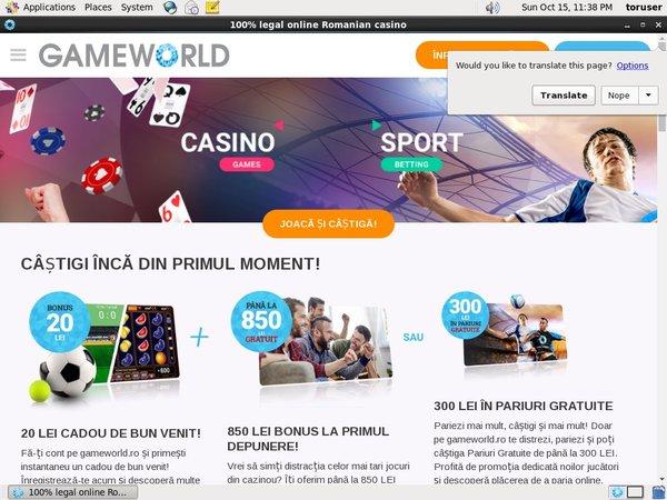 Play Slots Game World