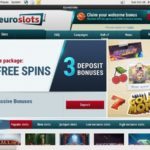 Euroslots Poker Rewards